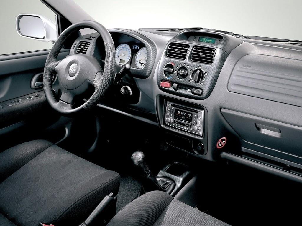 Suzuki Ignis, 2000-2003, wnętrze, FH