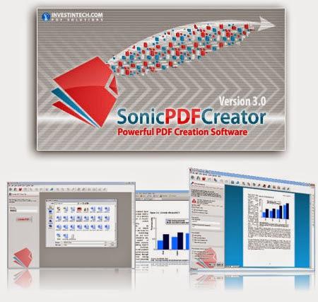 Investintech Sonic PDF Creator 3.0.6 Full,Tạo và chỉnh sửa file PDF