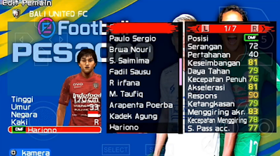 Mod Asia PES 2020 PPSSPP Update 2020
