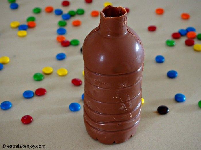 הכנת בקבוק משוקולד
