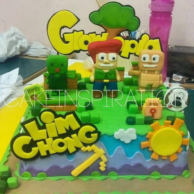 Pics Quiz Cake Art Mon : Cakes2Share Singapore: GROWTOPIA GAME 3D CAKE SINGAPORE ...