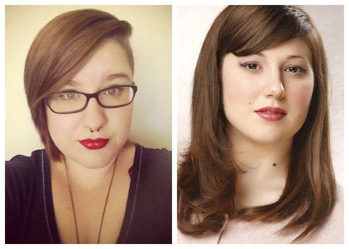 Haircuts for obese women photo