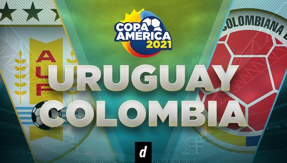 Colombia vs. Uruguay: partido por Copa América