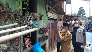 Wabup Batanghari H.Bakhtiar SP Mengunjungi Pasien Terdampak Covid-19