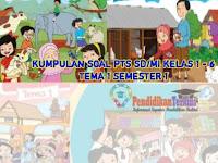 Kumpulan Soal PTS Kelas 1-6 SD/MI Tema 1 Semester 1 2021 Kunci Jawaban dan Kisi-Kisi Soal, Terkini