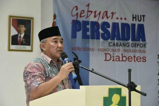 Penderita Diabetes di Kota Depok Meningkat Hingga 15 Persen