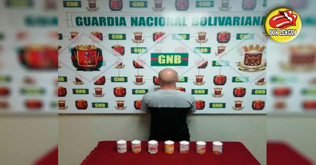 Ciudadano Húngaro detenido con 2,3 kilos de cocaína en Aeropuerto de Paraguaná