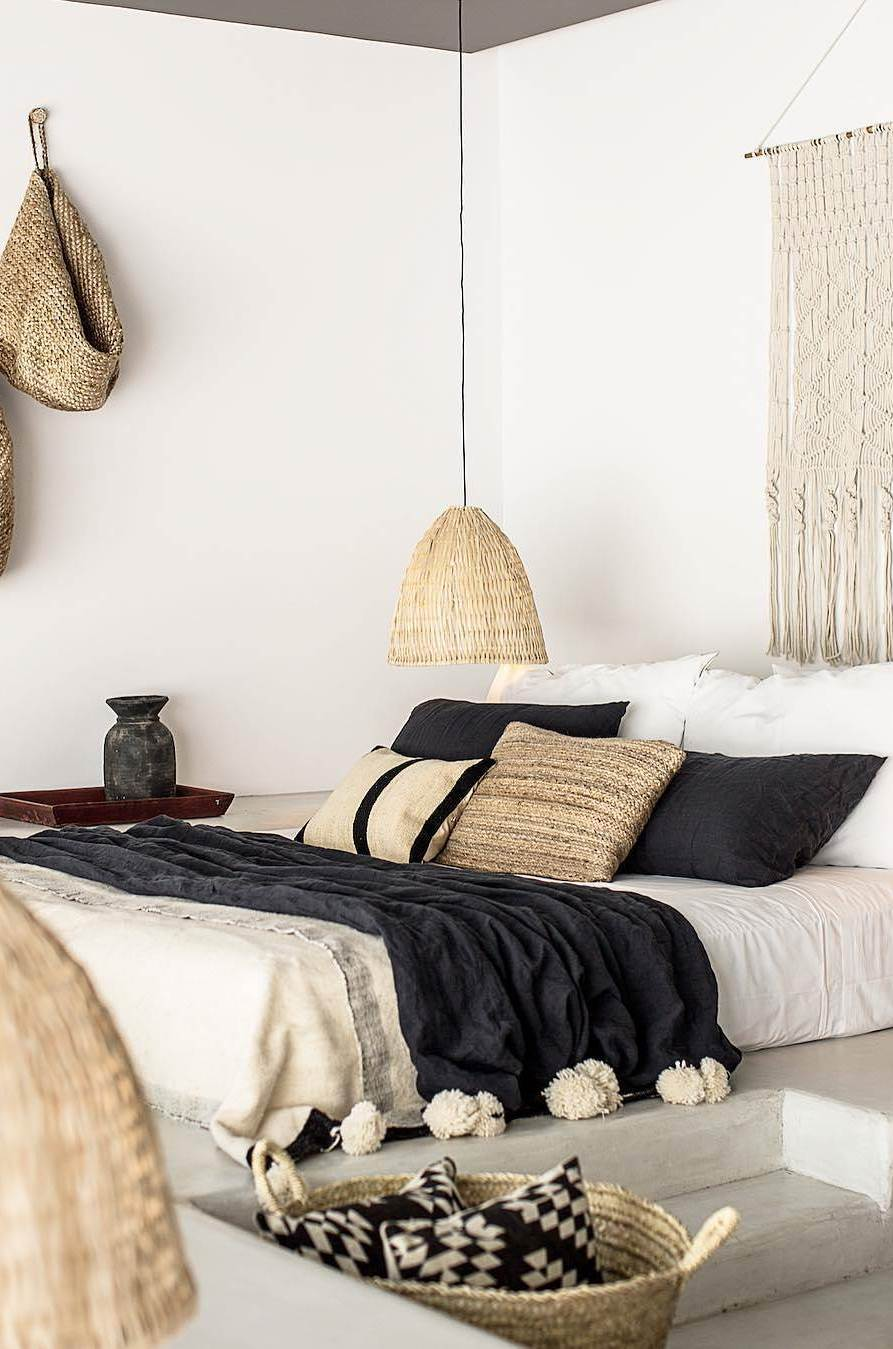boho bedroom interior design