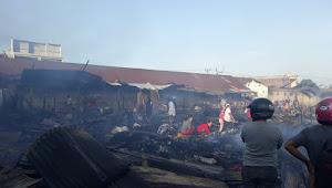 Pasar Tempe Kebakaran, Pemda Rencana Relokasi Pedagang