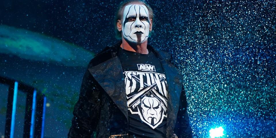 Sting é anunciado para o próximo AEW Dynamite