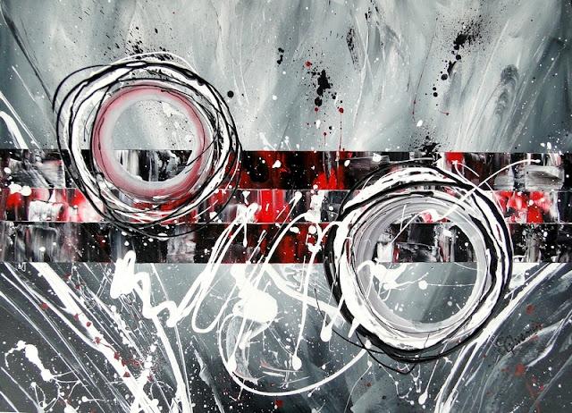 Grand tableau peint à l'acrylique, peinture à vendre
