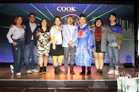 COOK Magazine's   9th K-Pop Holiday Bash