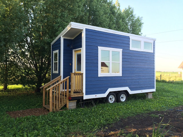 Lil Blue tiny house