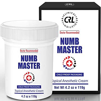 Kem gây tê tại chỗ Numb master cream dùng trong thẩm mỹ và xăm mình