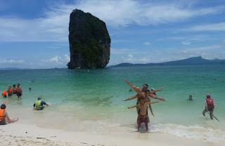 4 Islas o Four Island Tour, Koh Poda o Poda Island.