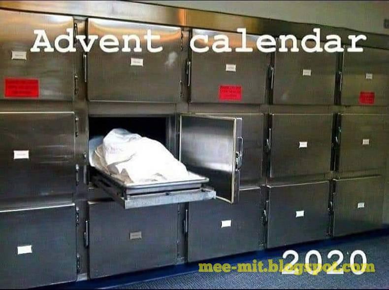 Calendar meme