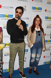 Piaa Bajpai launches TB Awareness Campaign with Darshan Kumaar 24.JPG