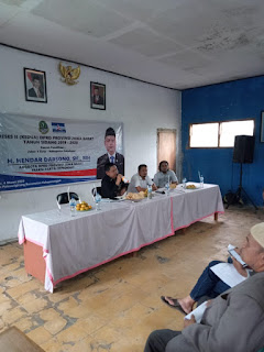 Politisi Partai Demokrat H.Hendar darsono adakan reses di Kelapa nunggal