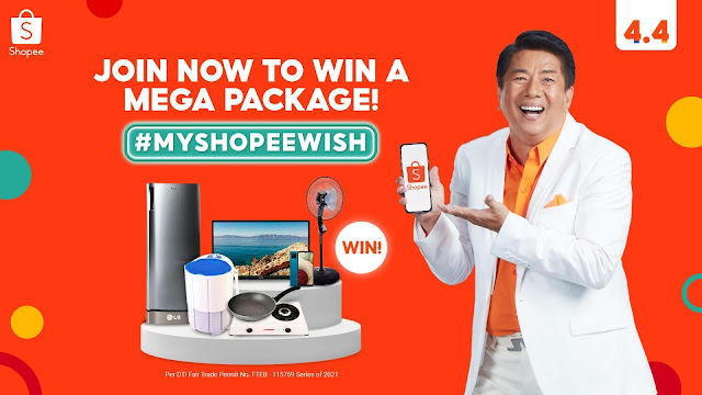 Win a Home Appliance and Gadgets Bundle from Shopee and Willie Revillame by Joining #MyShopeeWish