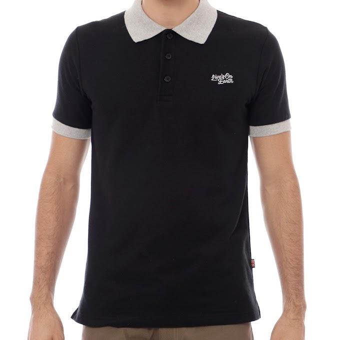 Polo Shirt Premium ASTON Black