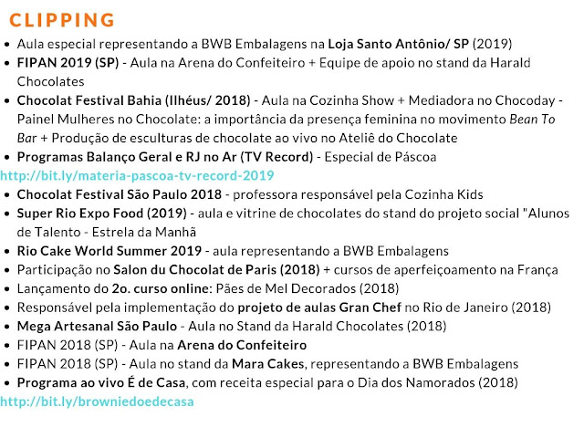 Clipping Chokolateria - Chocolatier Karla Alves Leal