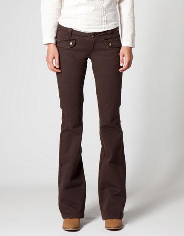 Calça jeans alta new semi baggy JEANS Cantao
