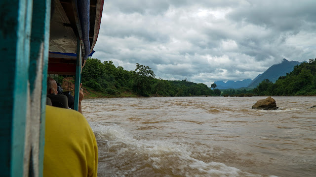Braved the rapids on this boat ride from Nong Khiaw to Muang Ngoi Neua, and lived to tell the tale