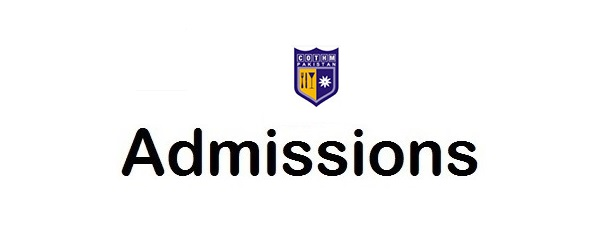 Admissions Open in College of Tourism and Hotel Management COTHM 2018