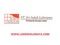 Loker Boyolali Admin Marketing / Marketing dan Quality Control di PT Sri Indah Labetama