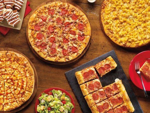 Pratos da Cici's Pizza Orlando