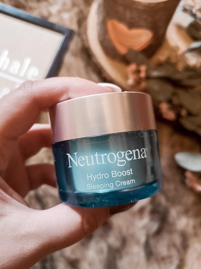 Hydro Boost Sleeping Cream de Neutrogena