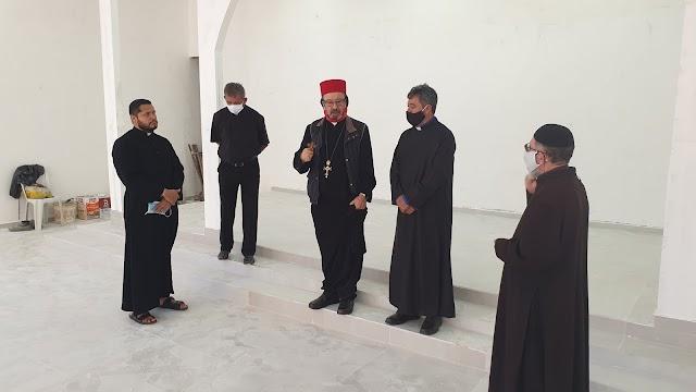Visita às obras da Igreja Sirian Ortodoxa São Miguel Arcanjo, em Santo Antônio do Descoberto - GO
