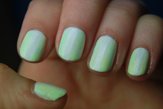 Color Club Pastel Neon Dry Brush Mani