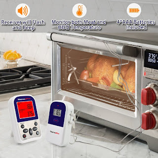 ThermoPro TP12 Digital Wireless Digital Remote Kitchen Cooking Meat Thermometer