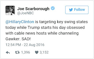 Joe Scarborough And Brzezinski - Trump Goes Stage Six on Joe Scarborough And Mika Brzezinski
