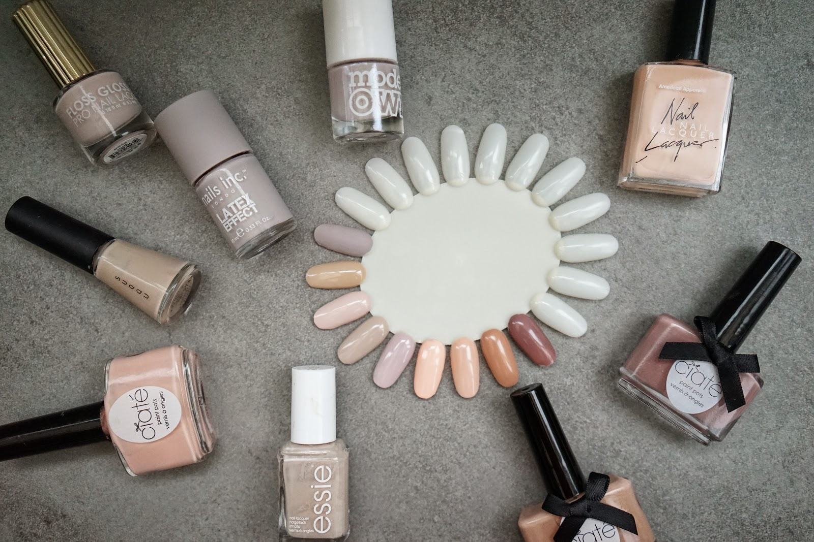 the best nude nail varnish