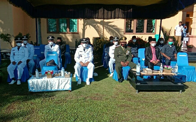 Danramil 01/Ranai Apresiasi Pemerintah Kecamatan Bunguran Timur Laut