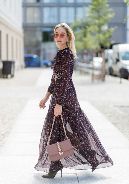 Maxi dresses florales