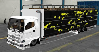 Hino Truck C6 Tronton Bak Terbuka