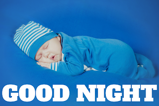 Cute baby saying good night image, good night cute baby photos