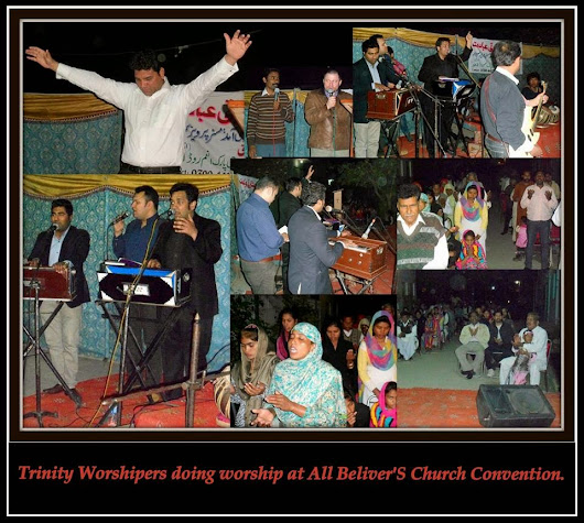Worship in All Beliver's Church