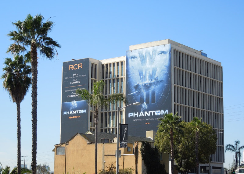 Giant Phantom movie billboards Sunset Strip