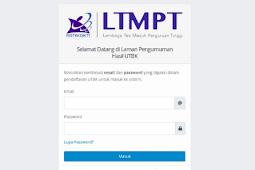 Cara membuka situs LTMPT jika pengumuman SBMPTN jadi di majukan
