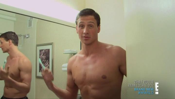 Male Celeb Screencaps: What Would Ryan Lochte Do S01E03