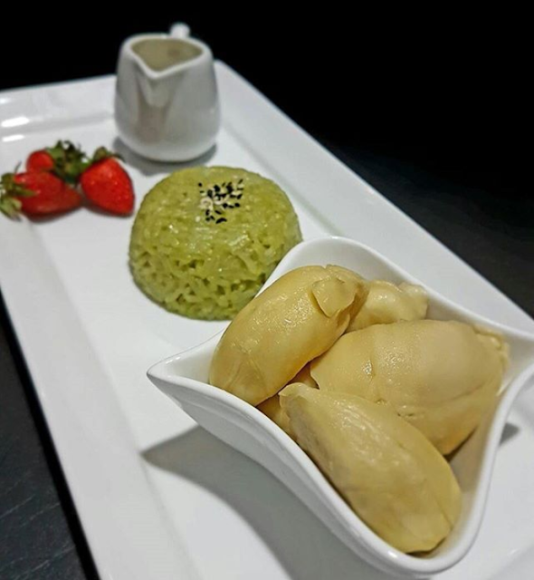 resep ketan durian ncc