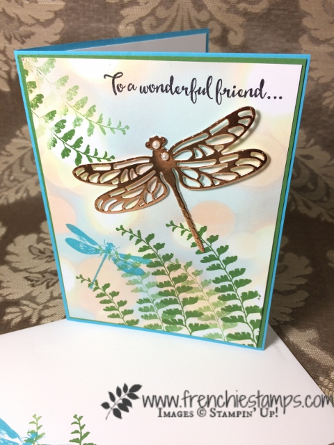 Awesomely Artistic, Dragonfly Dreams, stampin'Up!