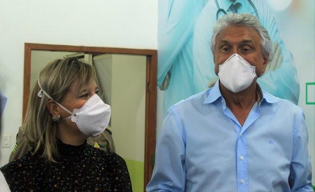 O governador Ronaldo Caiado visita Hospital Regional de Formosa e destaca melhorias