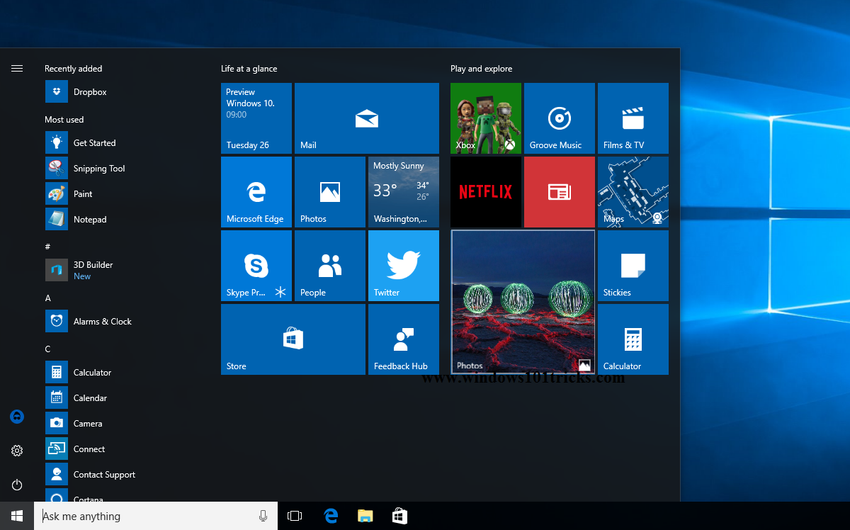 Technology Management Image: New Features And Changes On Windows 10 Anniversary Update