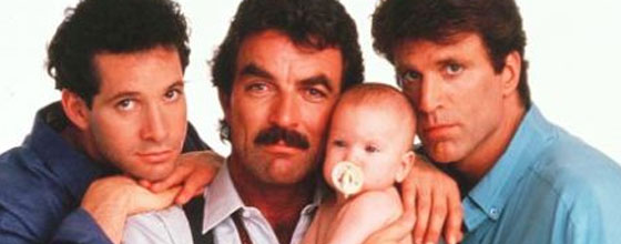 Tom Selleck, Steve Guttenberg e Ted Danson