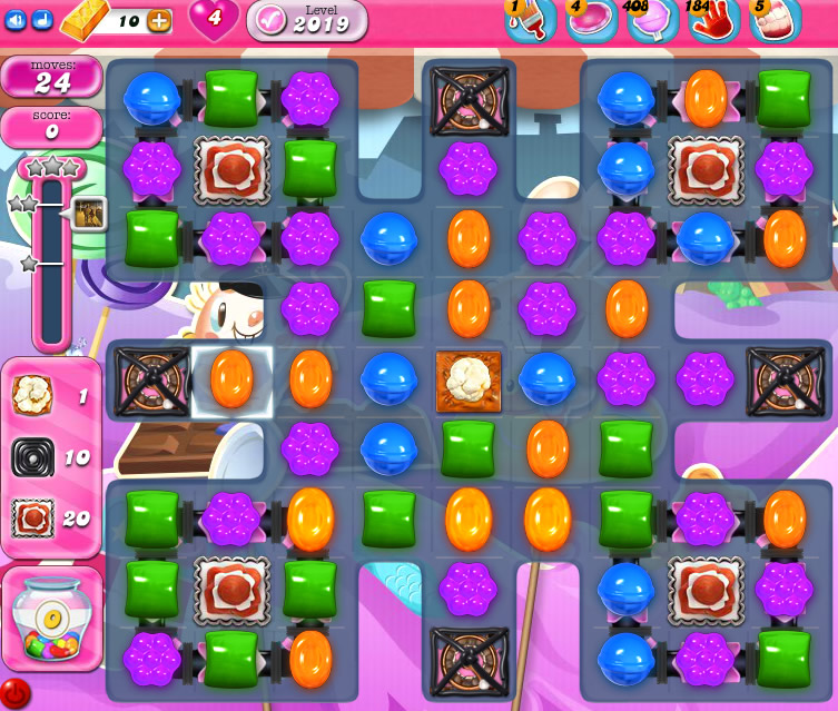 Candy Crush Saga 2019